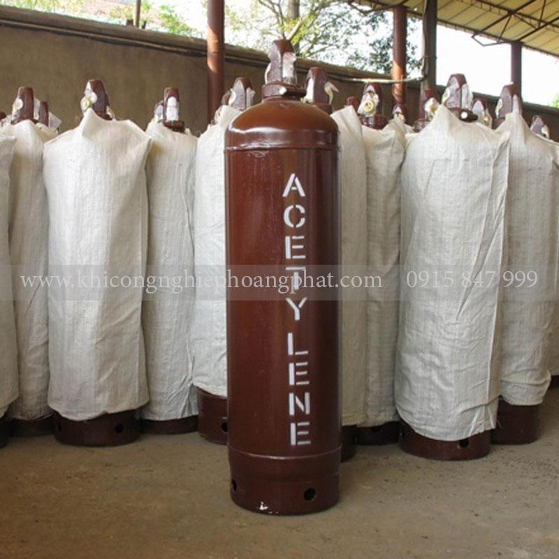 Bình Acetylen 40 Lít ( C2H2)