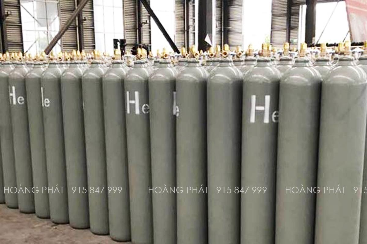 Bình khí Heli tinh khiết 5.0 ( Khí Argon tinh khiết 99.999%)
