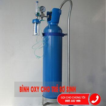 Bộ Oxy y tế cho trẻ em