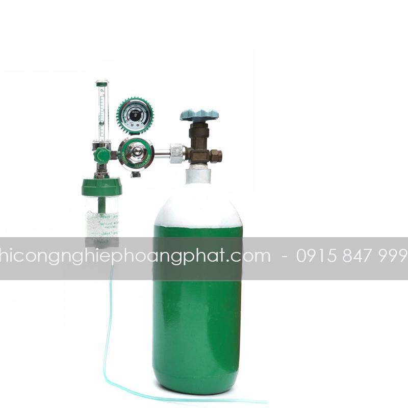 Bình Oxy y tế 3 Lít